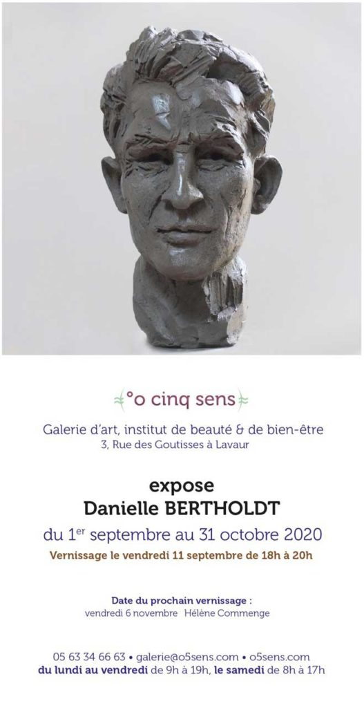 Danielle Bertholdt, exposition °o cinq sens